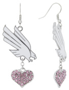 Special Edition North Texas Love Pink Collection Dangle Earrings