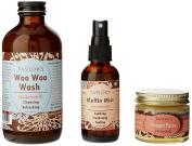 TAYLOR'S Ladies Bestie Kit (Woo Woo Wash, Muffin Mist, Punani Paste) (Balanced (Wash) Unscented