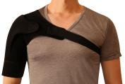 Shoulder Support for Rotator Cuff Brace Strap Stabiliser Neoprene Sleeve for Men and Women Stealth Support Medium