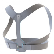 BACK Shoulder Brace (Large, Chest Approx 90cm - 120cm ) - Improves posture, prevents slouching for back pain relief.