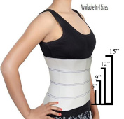 Abdominal Binder Support Post-Operative, Post Pregnancy And Abdominal Injuries. Post-Surgical Abdominal Binder Comfort Belly Binder (X-Small