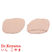Dr.Koyama Non Slip off Metatarsal Pads Ball of Foot Cushion Morton's Neuroma Pads Medium Forefoot Pain Relief