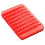Yingwei Drain Silicone Soap Tray Bathroom Case Storage
