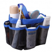 PolyTree Quick Dry Mesh Pockets Shower Caddy Bath Hanging Organiser Storage Bags