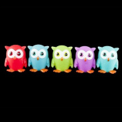 Rubber Owls - 12 per pack