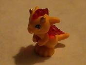 Authentic Lego Elves Orange Baby Dragon Animal Minifigure