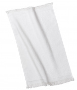 Port & Company bath Fingertip Towel OSFA White