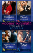 Modern Romance February Books 5-8