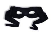Forum Novelties Black Half Mask with Ties - Masked Bandit