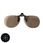 Emerald Tint Diffraction Clip On Glasses