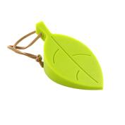 CoscosX Silicone Durable Leaf Stylish Door Stopper, Pinch-resistant Door Wedge Finger Protector, Keeps Door Securely Open, Green