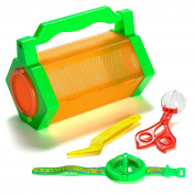 Prextex Explore Insect Bug Catcher Butterfly Kit Critter Case With 5 Bug Catching Tools
