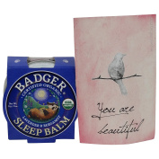 BADGER BALM - Sleep Balm - Pleasantly soothing, sleep stimulating balm - Calms and relaxes the mind and spirit