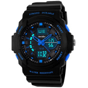 BesWLZ Multi Function Digital LED Quartz Watch Water Resistant Electronic Sport Watches for Boy Girls Child Kids Gift