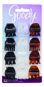 Goody Claw Clip Small Half, 12-Count