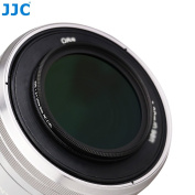 JJC F-CPL37(A+ )Ultra Slim Multi-coated Circular Polarising Filters -- 2mm AGC Glass, 4.4mm Aluminium Frame, 99.8% Polarisation Ratio, 6 Layers of Coating on Each Surface