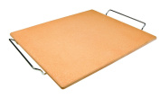 Ibili 784338 Stone Pizza Stone Rectangular 44 x 33 x 5 cm Orange