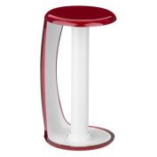 Latest Modern Kitchen Red and White Colour Towel Paper Roll Pole Stand Rack Holder