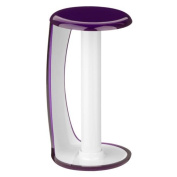 Kitchen Purple and white colour Towel Paper Roll Pole Stand Rack Holder
