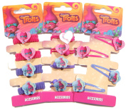 TROLLS HAIR ACCESSORIES BOBBLES CLIPS OFFICIAL DREAMWORKS CHRISTMAS GIFT UK