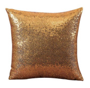 Malloom Cool Solid Colour Glitter Sequins Throw Pillow Case Cafe Home Decor Cushion Covers