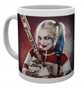 "GB eye Ltd ""Suicide Squad-Harley Quinn"" Good Night Mug, Wood, Multi-Colour"