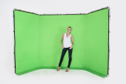Lastolite by Manfrotto LL LB7626 Panoramic Background Cover - 4 m, Chromakey Green