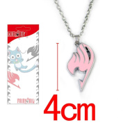 Fashion Christmas 1Pcs Fairy Tail Matel Necklace Pendant Pink Fairy Tail Ota441 For Gift