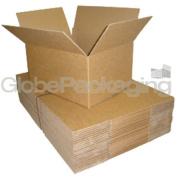 "5 x Mailing Postal Cardboard Boxes 30cm x 23cm x 6"" A4 Size"