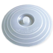 Lid Covers Flat Plates and Microwave - 2 drain holes