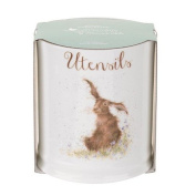 Wrendale by Royal Worcester Utensil Jar Hare, Multi-Colour