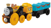 Thomas and Friends Toy - Wooden Railway - Stephen and the Castle Coach - Real Wood