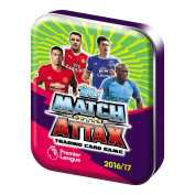 Topps Match Attax EPL 2016/2017 Trading Card Collector Mini Tin 16/17