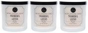 Dw Home Tranquil Lotus Richly Scented Candle Small Single Wick 120ml