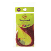 Design Length Snap It! 10″ Human Hair Bang Accent Spice