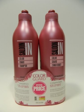 SALOON IN colour GUARD SHAMPOO & CONDITIONER 1000ml by SALOON IN