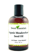 100% Pure Organic Meadowfoam Seed Oil   120ml   Cold Pressed   For Hair, Skin & Nails   Eyelash Growth   For All Skin & Hair Types   Also Excellent For Mature Skin
