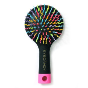 .  Hair Brush Comb with Mirror for Wet or Dry Hair – Detangling Brush for Kids & Adults - No Tangle Brush two colour choose