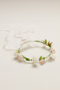 Flower Girl Flower Crown with Ribbon Style FG9104, Multi