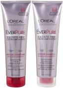L'Oreal Paris EverPure Sulphate-Free Colour Care System Moisture, DUO set Shampoo + Conditioner, 250ml, 1 each