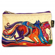 Laurel Burch Mythical Horses Cosmetic Purse