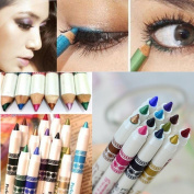 .  Eyeliner Pen Sets,Canserin 12 Colours Eye Shadow Makeup Cosmetic Sets