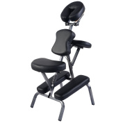 Giantex Portable Pu Leather Pad Travel Massage Tattoo Spa Chair w/ Carrying Bag