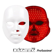 DEESSE Professional LED Facial Mask, Home Aesthetic Mask, Only Red Colour LED Self-Care SBT-MASK-STD
