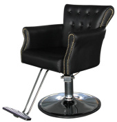 Shengyu Black Hydraulic Styling Barber Chair Hair Spa Beauty Salon Equipment