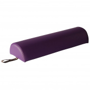Mt Massage Tables Semi-round Massage Bolster 23cm X 11cm X 70cm - Purple