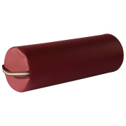 Mt Massage Large 23cm x 7.9m Full Round Bolster for Massage Table ,Burgundy