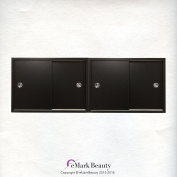 Beauty Salon DOUBLE Upper Cabinets Towel Cabinets Storage for Shampoo Bowl Station TLC-TC2TWO