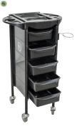 Salon Rolling Trolley Storage Cart Spa Equipment Beauty Storage Station