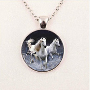 Carousel Horse Necklace, Horse Jewellery, Horse Necklace, Merry Go Round Necklace, Horse Charm, Carnival Horse